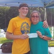 Softball Donation for Ocular Melanoma Cancer